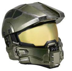 Réplica do capacete de Master Chief, protagonista de Halo