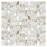 Inglewood Glass Mosaic Tile 1 X 4 In 19 99 Sq Ft