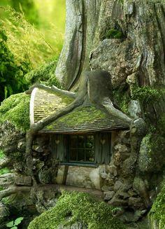 L'intérieur de l' architecture organique est pleine de plantes vertes qui créent…