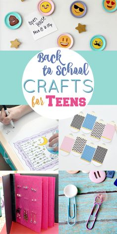 Back To School Crafts For Teen Girls Weekly Link Party