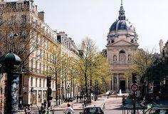 Paris, Sorbonne on Left Bank by m. muraskin-france by m. muraskin, via Flickr