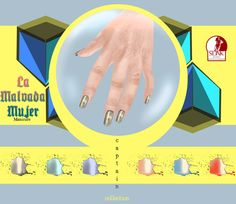 La Malvada Mujer - Captain collection Manicure | Flickr - Photo Sharing!