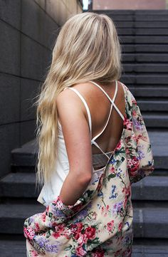 flowery thingy // No Fashion Victims
