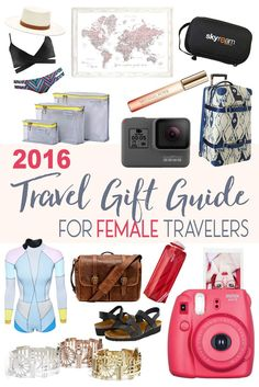 This travel gift guide for the female traveler will help you shop for that special, wanderlusting lady in your life!