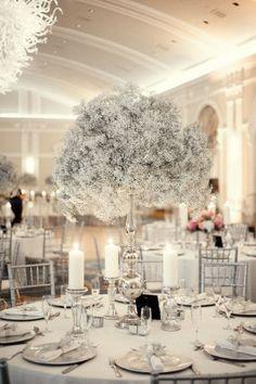 #white #wedding #decor by alejandra