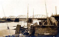 Norfolk Bridge II postcard Brighton And Hove, Local History, Old Postcards, Norfolk, Coastal, Bridge, Boat, Park, Places