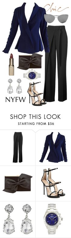 """""""Untitled #768"""" by emmaomeradzic ❤ liked on Polyvore featuring Reed Krakoff, Issey Miyake, Coast, Giuseppe Zanotti, Kenneth Jay Lane, Invicta and Cutler and Gross"""