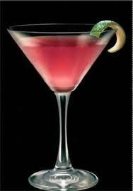 Classic Cosmopolitan ~ 1 1/2 ounces Vodka, 1/2 ounce cointreau, 1 tsp fresh lime juice, 1 1/2 ounces cranberry juice, 1 twist of lime zest (garnish).  Pour all ingredients into a cocktail shaker with lots of ice. Shake vigorously for several seconds and strain into a cocktail glass. Garnish with a lime twist.