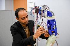 UAE professor uses 3D printing to make highly personalized advanced prosthetic arms
