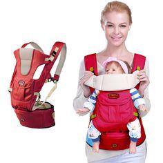 Ergonomis sling Bayi Pembawa 360 keranjang bayi balita tas ransel dengan hipseat wrap penutup mantel untuk bayi yang baru lahir stroller