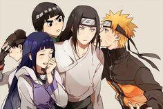 Amo demais os personagens de Naruto, principalmente o Rock Lee - Hinata, Neji e Tenten