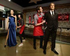 Музей мадам Тюссо развел восковые фигуры Джоли и Питта