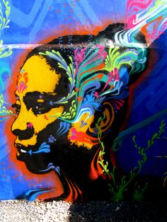 street art. Stinkfish ---we are showing his work at the gallery