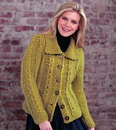 Naturally - FC74 - Coin Cable Cardigan