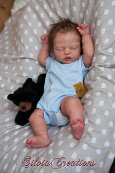 Custom Made reborn Robin by Nikki Johnston by FairytaleVillage Real Life Baby Dolls, Cute Baby Dolls, Newborn Baby Dolls, Reborn Baby Girl, Cute Babies, Silicone Baby Dolls, Silicone Reborn Babies, Baby Pop, Baby Doll Nursery