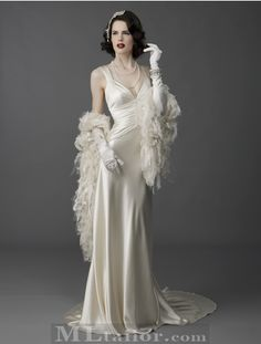 Laura Byrnes California Gilda Gown in Ivory Velvet | Velvet, Girl ...