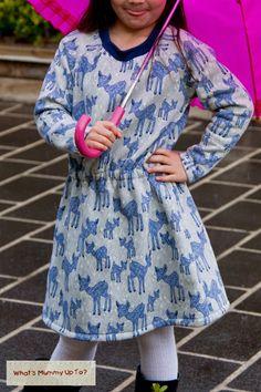 Multi-Size Free Raglan shirt pattern Kids sizes 18mths-6t. Full tutorial and…