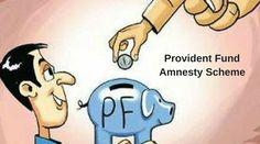 Provident Fund Amnesty Scheme