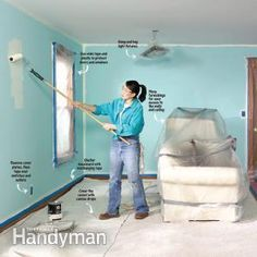 The key to a quality painting result is preparation. Take a few minutes to prepare before you start your project and you'll paint faster and neater. Follow these tips to save time and minimize the need for touch-ups.