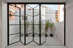 ideas for french door design balcony Steel Windows, Steel Doors, Windows And Doors, Wood Doors, Home Interior Design, Interior And Exterior, Interior Glass Doors, Interior Folding Doors, Exterior Siding