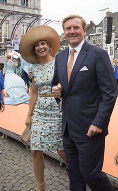 Máxima de Holanda y Matilde de Bélgica, duelo de elegancia en la celebración de los 200 años de la monarquía holandesa