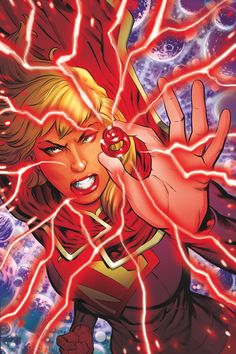 """SUPERGIRL #33 … JULY 2014     Written by TONY BEDARD Art by EMANUELA LUPACCHINO Cover by JEFF JOHNSON and CAM SMITH """"Red Daughter of Krypton"""" – the finale! Faced with a threat from Worldkiller-1 and staggering allegations about her past, Supergirl is forced to question her role as a Red Lantern – and as a hero! Don't miss the thrilling conclusion to this epic adventure – and its shocking final pages!"""