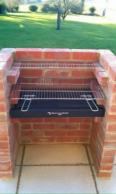 25 besten DIY Backyard Brick Barbecue-Ideen, You are in the right place about grilling burgers Here we offer you the most beautiful pictures about the gril Backyard Projects, Outdoor Projects, Backyard Patio, Backyard Landscaping, Pvc Projects, Backyard Kitchen, Landscaping Design, Brick Grill, Brick Built Bbq