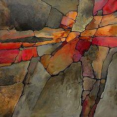 CAROL NELSON FINE ART BLOG acrylic on canvas