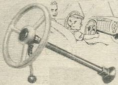 Deluxe Junior Steering Wheel From The 1950s