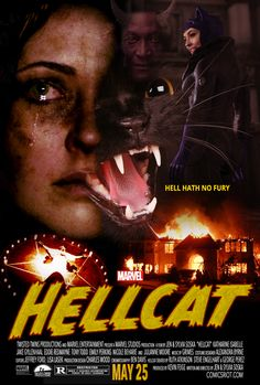 Patsy Walker, Hellcat.  A Feminist Horror Film from Marvel Studios.