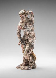 statue 2015 by Stephen Benwell Ceramic Sculpture Figurative, Contemporary Ceramics, Sculpture Art, Still Life, It Works, Beast, Pottery, Statue, Animals