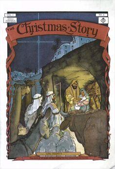 """La Historia de Navidad"", Una historieta de The Heroes of the Faith Comic Series: https://tebeoscristianos.wordpress.com/2017/09/21/navidad1/"