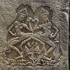 Angkor Wat wall relief. Dance Images, Angkor Wat, Music, Wall, Diy, Musica, Musik, Bricolage, Muziek