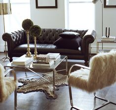 Ryan Korban {eclectic living room} | by recent settlers