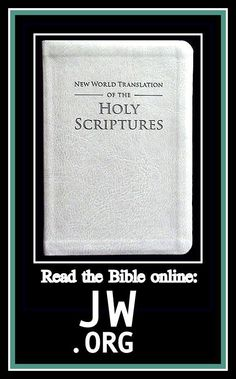 Avoid this book like the plague. This is NOT a Christian Bible. The New World Translation (written by the Watchtower Association) has removed or altered every reference to the deity and authority of Jesus Christ.