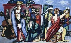 The Journey Artwork by Max Beckmann Hand-painted and Art Prints on canvas for sale,you can custom the size and frame