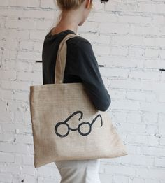 "Alder & Co Tote Bag - ""This automatically makes me think Harry Potter. So naturally, I love it."""
