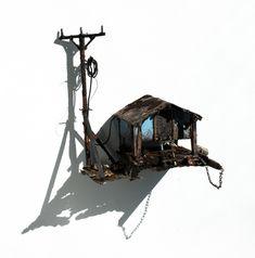 Bassmen — ianbrooks: Miniature Dilapidations by Maarten...