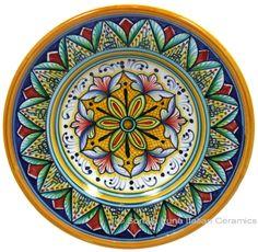 Italian Hand Painted Ceramic Majolica Plate | 15cm