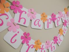 Pinorgaloo Happy Birthday Banner by iecreations on Etsy, $18.50