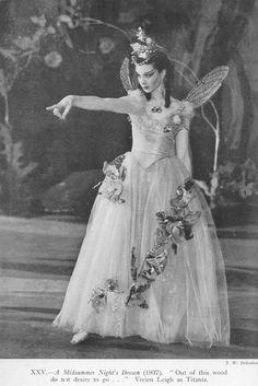 Vivien Leigh as Titania - midsummer night's dream