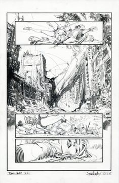 Tokyo Ghost - issue 2 page 21 par Sean Gordon Murphy - Planche originale…