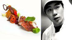 "Chef Hoyoung Kim: ""Korean cuisine is the next big trend''. http://www.finedininglovers.com/blog/points-of-view/chef-hoyoung-kim/ #S.PellegrinoCookingCup2014 #S.Pellegrino #AcquaPanna #Venice"