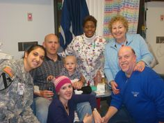 Christian on the day of his very last chemo treatment at Walter Reed Army Medical Center with his family in December 2009. Submitted by his mother Diana Fagala.