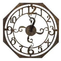 Cooper Classics Ruhard Wall Clock  #Classics #Clock #Cooper #CooperClassicsRuhardWallClock #Ruhard #RusticMantelClock #Wall The Rustic Clock