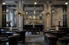 Connaught Bar, The Connaught Hotel, London - that's our table to the right !