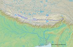 Yarlung Tsangpo River, Indus-Tsang Po suture zone