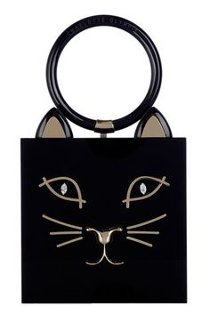 Charlotte Olympia 'Kitty' Clutch.