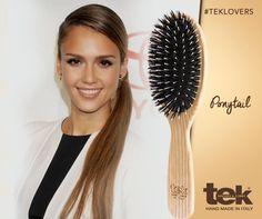 Cabello Hair, Jessica Alba, Ponytail, Hair Ideas, Hair Beauty, Make Up, Hair Styles, Handmade, Classic Hairstyles
