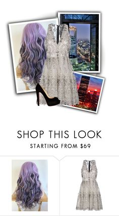 """""""Night In The City"""" by once-upon-a-nightmare ❤ liked on Polyvore featuring Alice + Olivia and Christian Louboutin"""